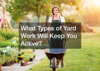 different types of yard work